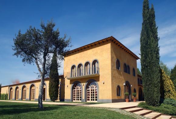 Pere Ventura wine cellar
